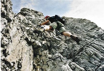 Klettersteig Ilmspitze : Ilmspitze