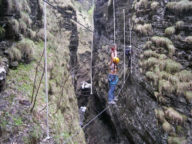 Klettersteig Postalm : Postalm klettersteig