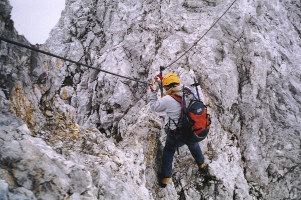 Klettersteig Ramsau : Scheichenspitze 2667m ramsauer klettersteig