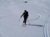 Auch am Nachmittag war der Schnee überraschend gut! Ein perfekter Tourentag geht zu Ende...