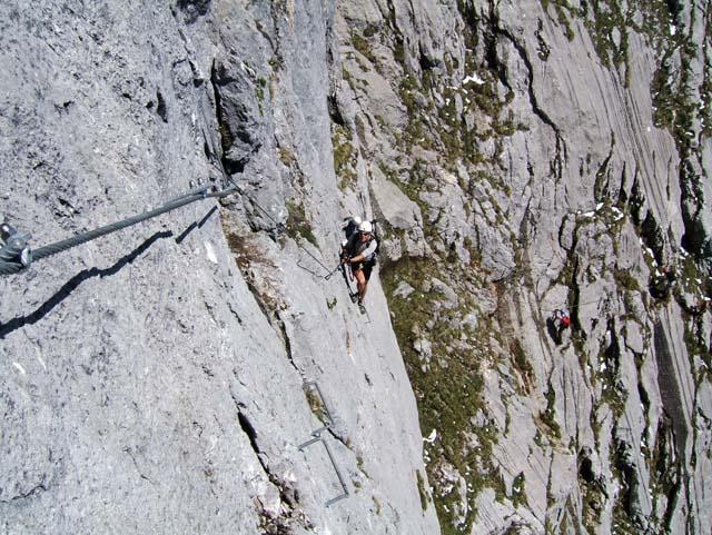 Klettersteig Hochthron : Riesner at archive berchtesgadener hochthron m