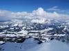 Blick vom Gipfel über Fieberbrunn hinweg nach Norden