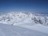Am Horizont ist der Elbrus zu sehen