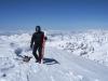 Peter ist jetzt schon zum dritten mal am Kazbek-Gipfel