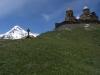 Kazbek mit der Dreifaltigkeitskirche
