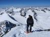 Der Gipfelkranz um den Alpeiner Ferner ist groß.